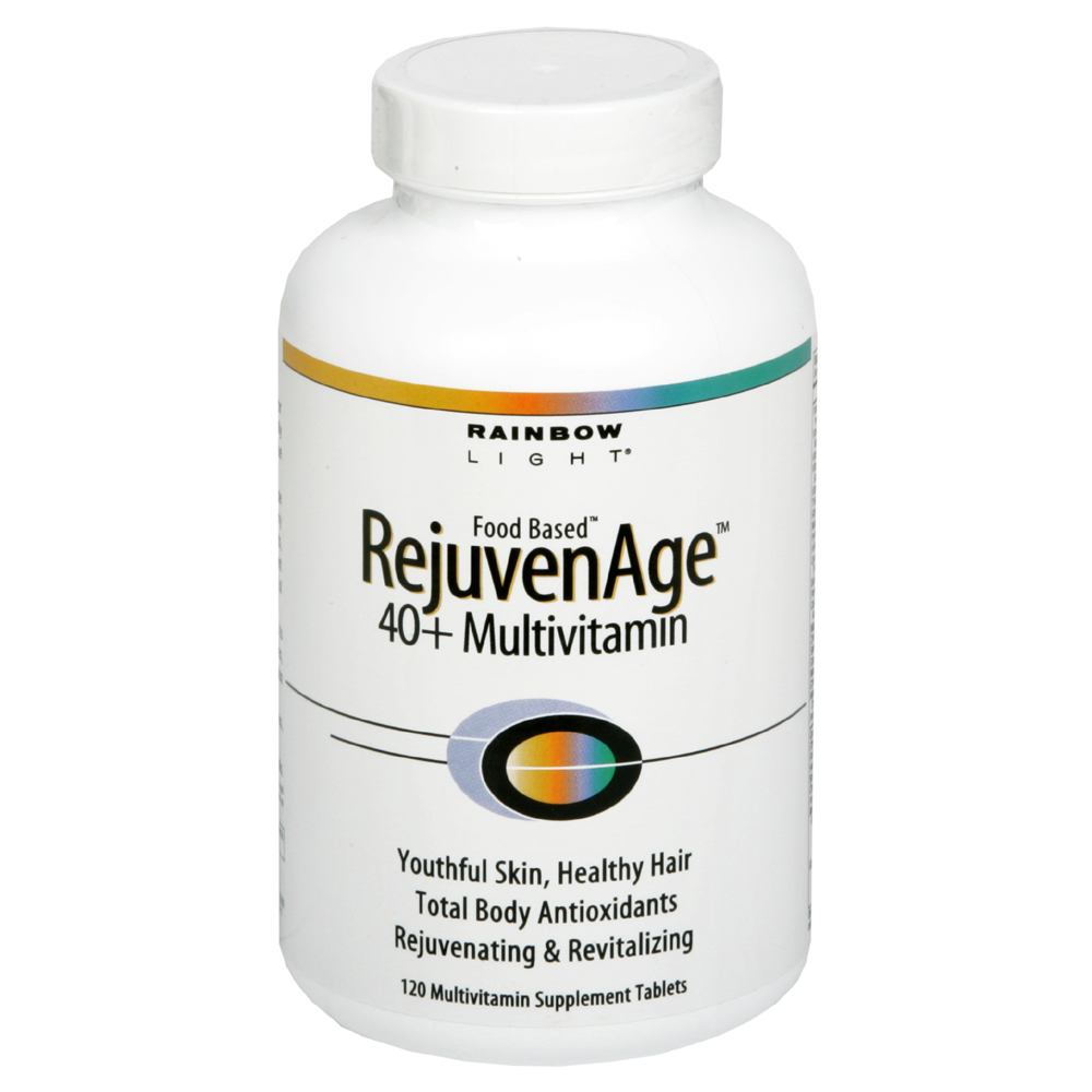 Rainbow Light Rejuvenage 40+ Multivitamin, Food Based, Tablets, 120 tablets at Kmart.com