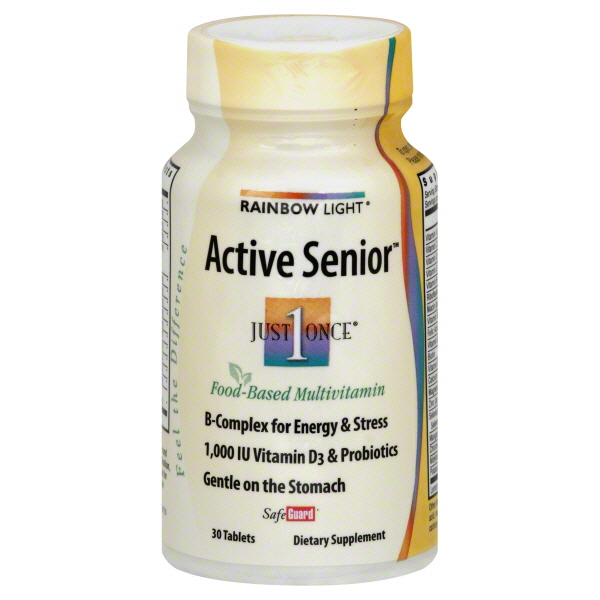 Rainbow Light Just Once Active Senior, Tablets, 30 tablets at Kmart.com