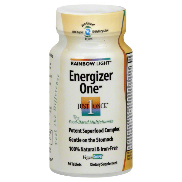 Rainbow Light Just Once Energizer One, Tablets, 30 tablets at Kmart.com