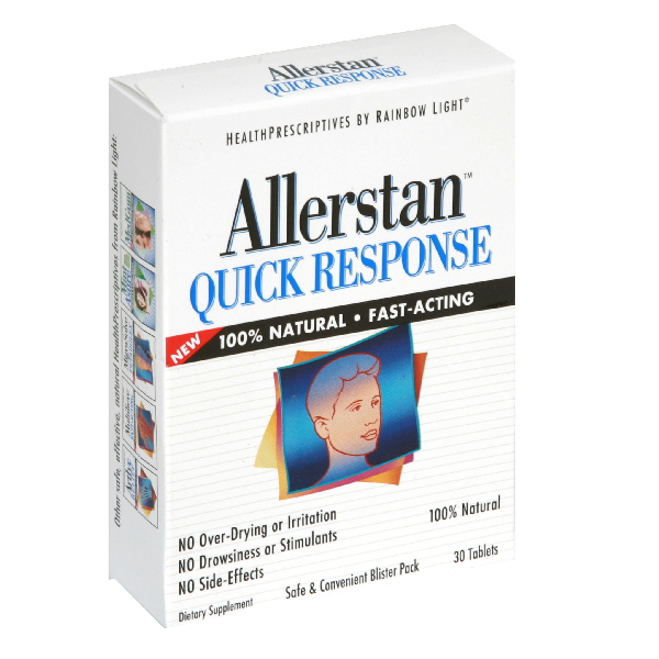 Rainbow Light Allerstan Quick Response, Tablets, 30 tablets at Kmart.com