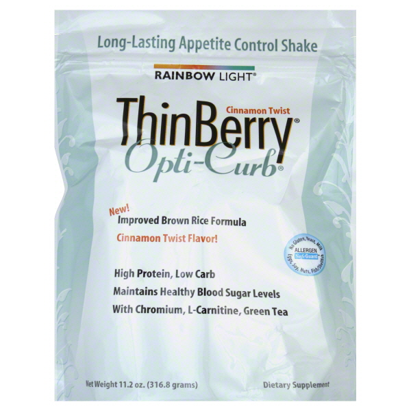 Rainbow Light ThinBerry Opti-Curb, Cinnamon Twist Flavor!, 11.2 oz (316.8 g) at Kmart.com