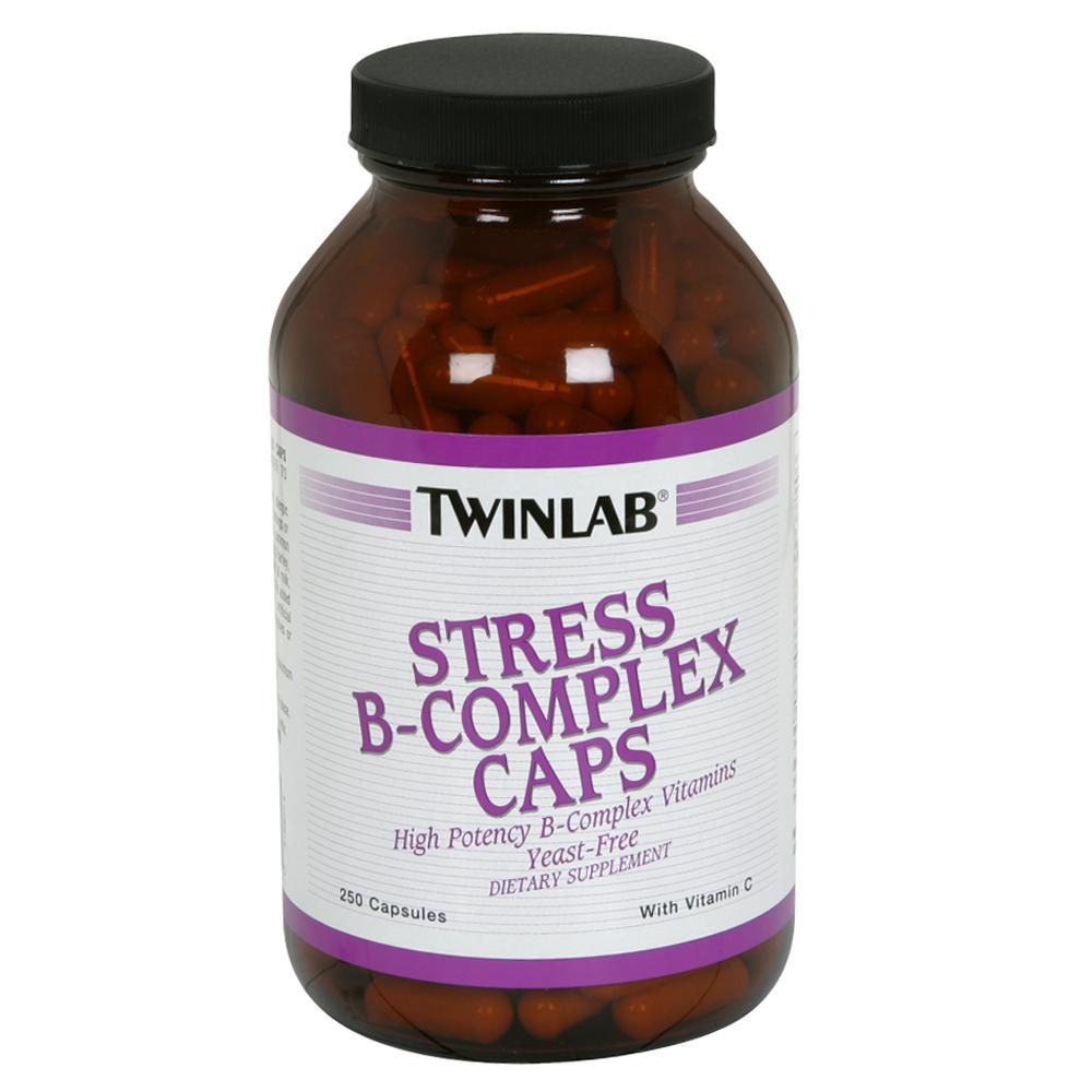 TwinLab Stress B-Complex Caps, with Vitamin C, Capsules, 250 capsules at Kmart.com