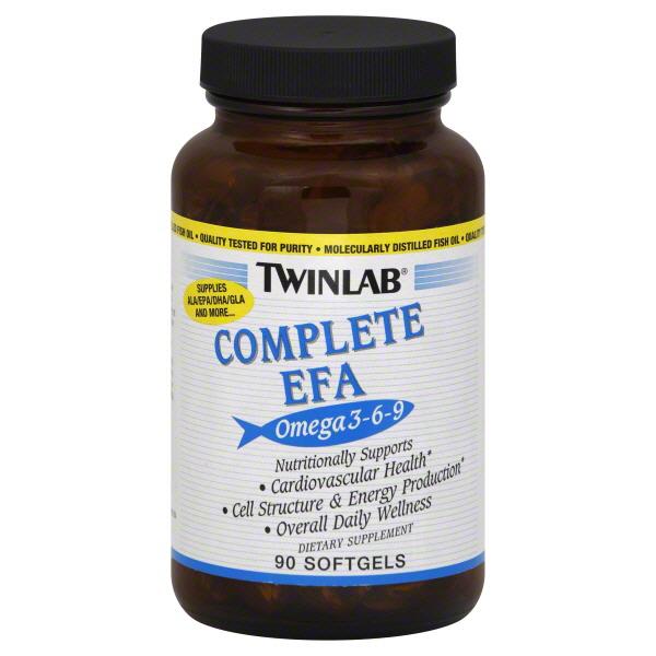 TwinLab Complete EFA, Omega 3-6-9, Softgels, 90 softgels at Kmart.com