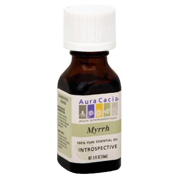 Aura Cacia 100% Pure Essential Oil, Myrrh, 0.5 fl oz (15 ml) at Kmart.com
