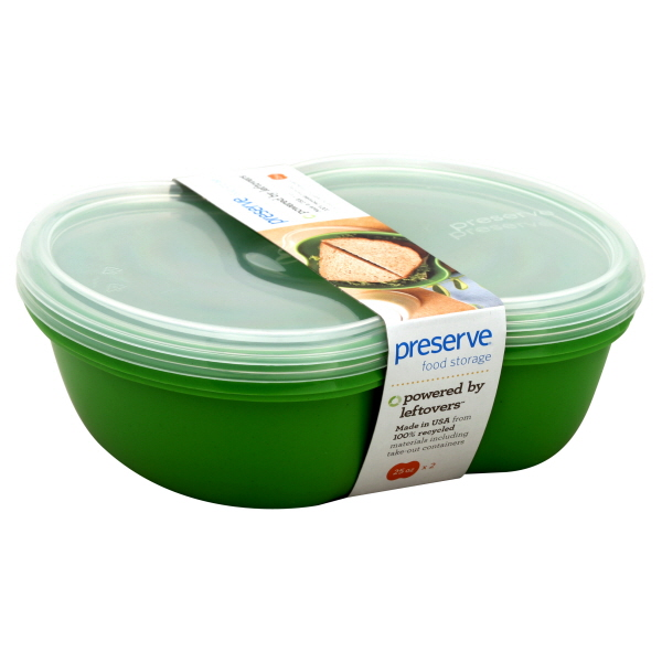 Preserve Food Storage, Green, Square, 2 container at Sears.com