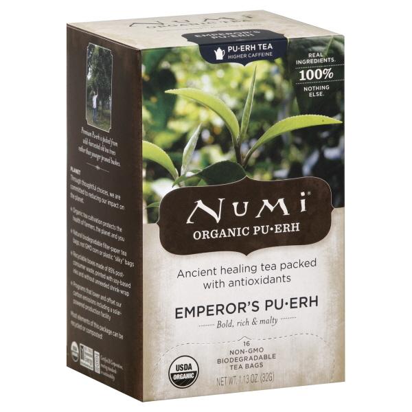 Numi Tea Tea, Emperor?s Pu-erh, Tea Bags, 16 bags [1.13 oz (32 g)] at Kmart.com