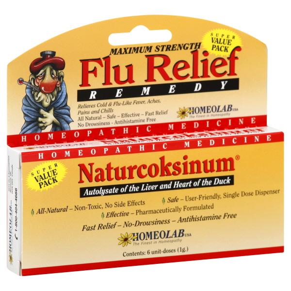 Homeolab Usa Naturcoksinum Flu Relief Remedy, Maximum Strength, Pellets, Super Value Pack, 6 doses at Kmart.com
