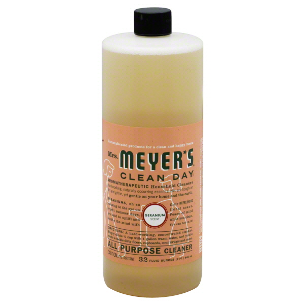 Mrs. Meyer's Clean Day All Purpose Cleaner, Geranium Scent, 32 fl oz (2 pt) 946 ml at Kmart.com
