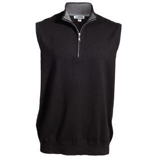 Edwards Unisex Comfortable Quarter Zip Vest 4074 PartNumber: 00000000000010145766000000000000EDED4074P