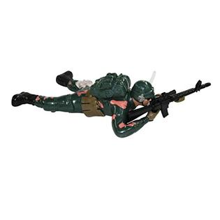 Dash Toyz Dash Crawling Army Soldier Battery Operated Toy Action Figure w/ Realistic Crawling Action, Sounds, Lights(Colors May Vary) PartNumber: SPM12552215430