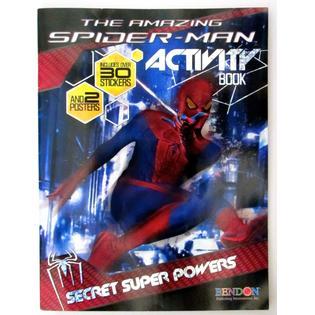 Bendon The Amazing Spider-man Activity Book: Secret Super Powers PartNumber: A013014829