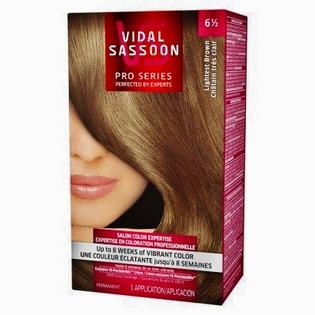 Vidal Sassoon Pro Series Hair Color 6 1/2 Lightest Brown PartNumber: SPM14750861824