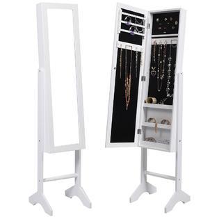 Standing Jewelry Box Mirror