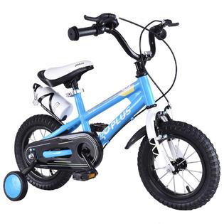 "Goplus 12"" Freestyle Kids Bike Bicycle Children Boys & Girls w Training Wheels Blue PartNumber: A011611197"