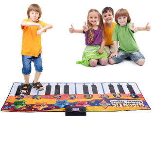 Goplus 24 Key Gigantic Keyboard Piano Dance Playmat Kids Musical Floor Game Christmas PartNumber: A013073571
