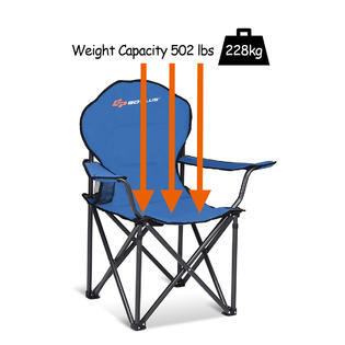 Fantastic Goplus Folding Durable Camping Chair High Load Bearing Beach Ocoug Best Dining Table And Chair Ideas Images Ocougorg