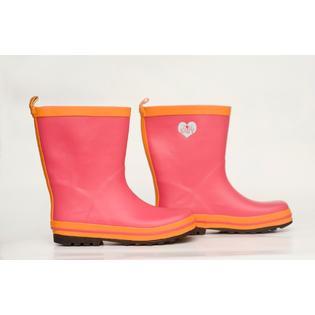 Zoubaby Children's Hot Pink Rain Boot Size 3