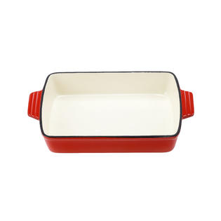 VonShef VonShef Cast Iron Cooking, Oven To Table Dish, Roasting Tray,  Cookware,