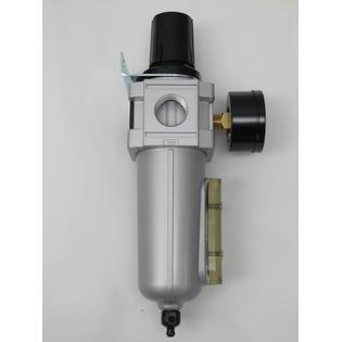 "1/2"" Air Compressor Regulator & Filter In Line Combo w/ Gauge Compressed Air New PartNumber: SPM10582641720"