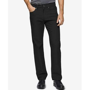 Calvin Klein Pants FOR  Men Herrringbone STYLE BLACK SIZE 36WX34L PartNumber: 7SNCALVINKLEINPANTS