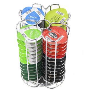 Yaheetech Coffee Keurig K Cup Holder Storage Carousel Organizer - 52 Pod Capacity PartNumber: SPM12510133330