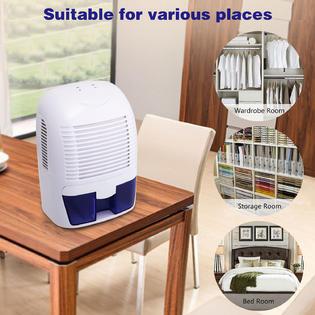 Bestselling BSZP AMB005266 Electric Mini Dehumidifier Compact Portable For  Basement Bedroom Kitchen Bathroom Caravan Closet 5266