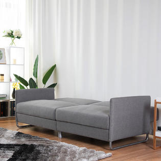 Groovy Gymax Modern Futon Sofa Bed Convertible Recliner Couch Andrewgaddart Wooden Chair Designs For Living Room Andrewgaddartcom