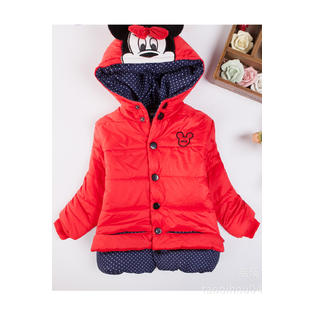 8598759dd Zara Beez Toddler Girls Warm Long Sleeve Cartoon Jacket