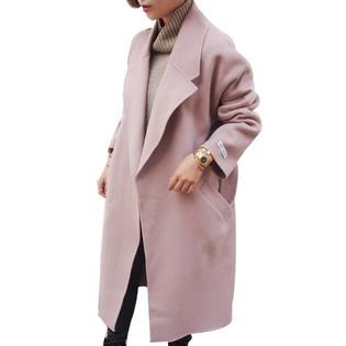 c2700a38143 www.virtualstoreusa.com Women Winter Coats Jackets Thick Wool Winter Long  Poncho Coats Belt