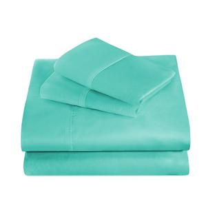 Ivy Union Premium Ultrasoft Wrinkle Resistant Microfiber Sheet Set Full XL Turquoise