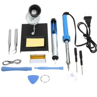 iMeshbean Premium SO11 14 IN 1 60W 110V Electric Soldering Iron Tools Kit DIY Tool Set; Great for Electronics,Hobbies, Kits & Repair Work PartNumber: SPM4029100821