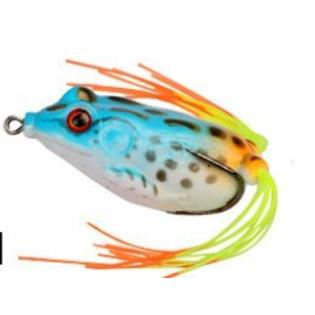 "2"" Soft Frogs Topwater Fishing Lures Crankbait Hooks Bass Bait Tackle PartNumber: SPM14513288515"