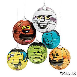 Bigbolo Halloween Boo Bunch Hanging Paper Lanterns PartNumber: A014132555