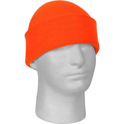 Rothco Safety Orange Military Deluxe Winter Beanie Hat Acrylic Watch Cap 7b7746fbe71