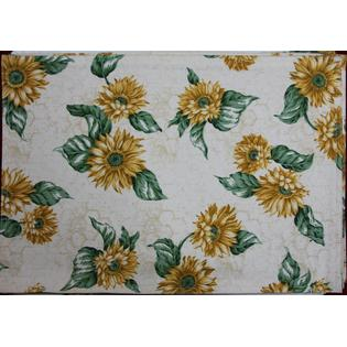 Unomatch Unmatch Sun Flowers Printed Dining Table Mats Dining Tables Kitchen Decor 4 pieces set PartNumber: 0000000000000003638100000000000000UTM427P