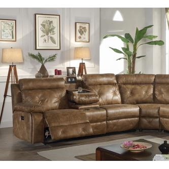 Awesome Esofastore Reclining Motion Brown Sectional Sofa 3Pc Set Gmtry Best Dining Table And Chair Ideas Images Gmtryco