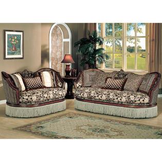 Super Esofastore Traditional Formal Living Room Furniture 3Pc Sofa Machost Co Dining Chair Design Ideas Machostcouk