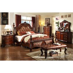 Bedroom Set Faux Marble Top