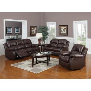 3pc Reclining Sofa Set Modern