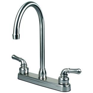 replacement rv sink motorhome faucet chrome spout nut kit