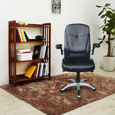 Outt PU leather office chair Executive Office Computer Desk Chair (Black) at Sears.com