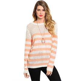 Ekklesla Peach and Cream Sweater at Sears.com