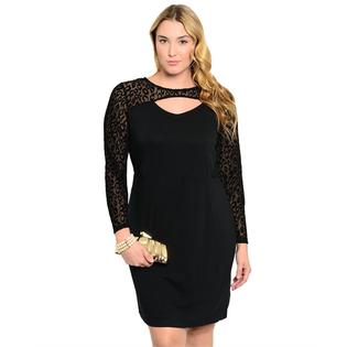 Derek Plus Glam Little Black Dress at Sears.com