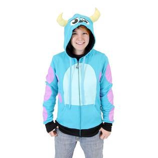 I Am Sully Juniors Zip Up Hoodie Sweatshirt PartNumber: 00000000000000022241000000monstersinc012P
