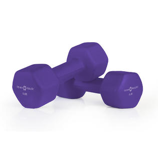 Fitness Republic Neoprene Dumbbells 15 lbs Set (Neoprene Weights)