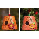 Autume Brights Autumn Brights, Floral Birdhouse, Set of 2, Assorted at Sears.com