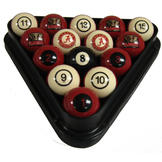 NCAA Billiard Ball Set Alabama Billiard Ball Set - NUMBERED at Sears.com