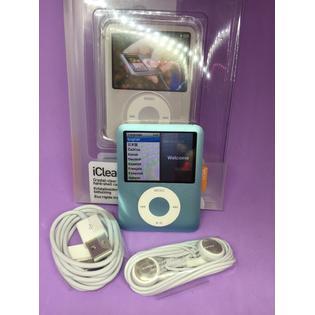 10 Apple iPod Nano 3rd Generation 8GB Blue-Used- Very Good