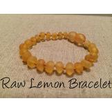 Baltic Amber Teething Bracelet for Babies and Toddlers Genuine Authentic Certified Raw UnPolished Lemon at Sears.com