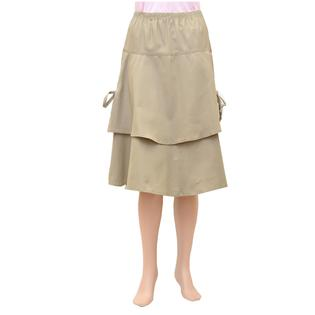 Baby'O Women's Below the Knee Length Layered Tie Side Apron Skirt at Sears.com